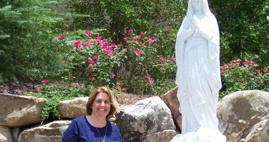 For Mary… My book is my little thanksgiving for her spiritual motherhood