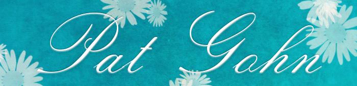 Pat Gohn logo 2 with daisies