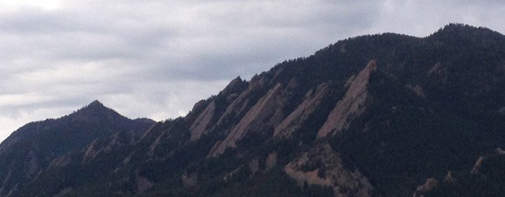 On foot in Boulder, Colorado… a rosary walk in God's country…