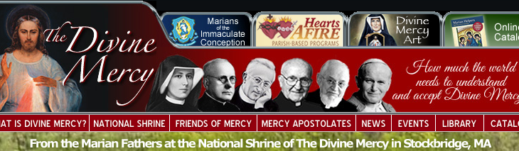 Everything you could ever want to know about Divine Mercy in one great website: thedivinemercy.org