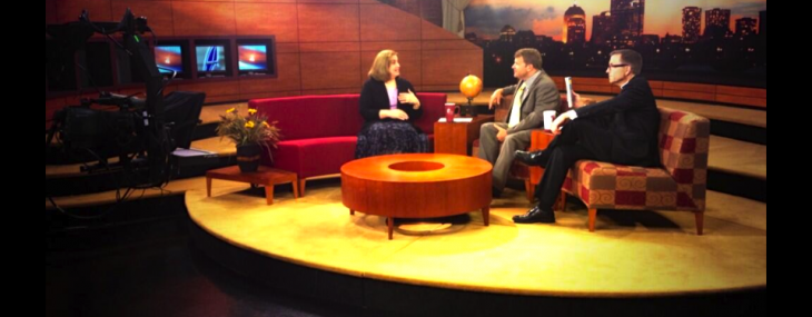 "Here's my guest slot on Catholic TV's ""This is the Day""…"