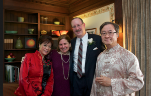 Happy parents! At the Tea CeremonyL to R: Anita Sung, Pat Gohn, Bob Gohn, Francis Sung ©Reinaldo Gutierrez Photography www.wix.com/reinaldogallery/professional