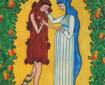 This makes me think… about Mary as the New Eve