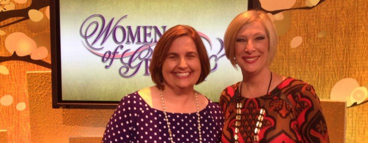 "I'm on ""Women of Grace"" this week with Johnette Benkovic"