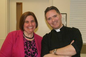 Me with Fr James Mallon, pastor of Saint Benedict Parish