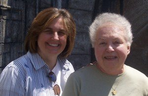 My mom and me, circa 2009. New York.