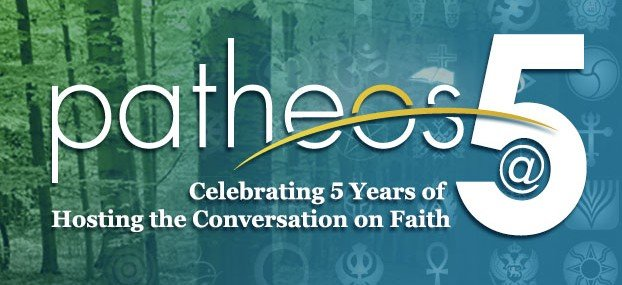 Patheos is 5 years young! Thanks to @TheAnchoress for the growth of @PatheosCatholic!
