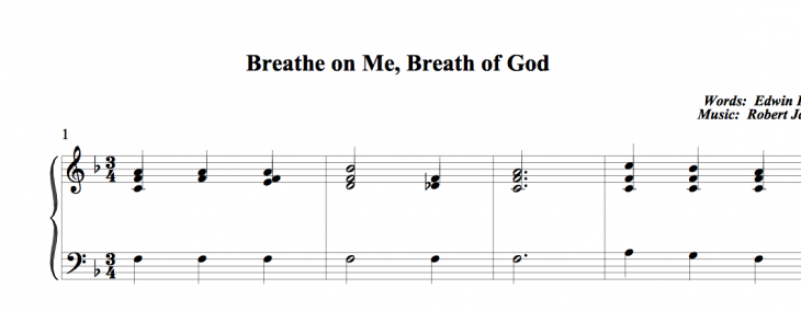 This makes me think… about how classic hymns can be powerful prayers