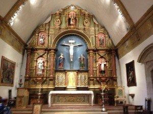 Mission's altar