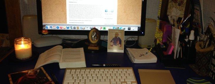 A Catholic Writer's Prayer