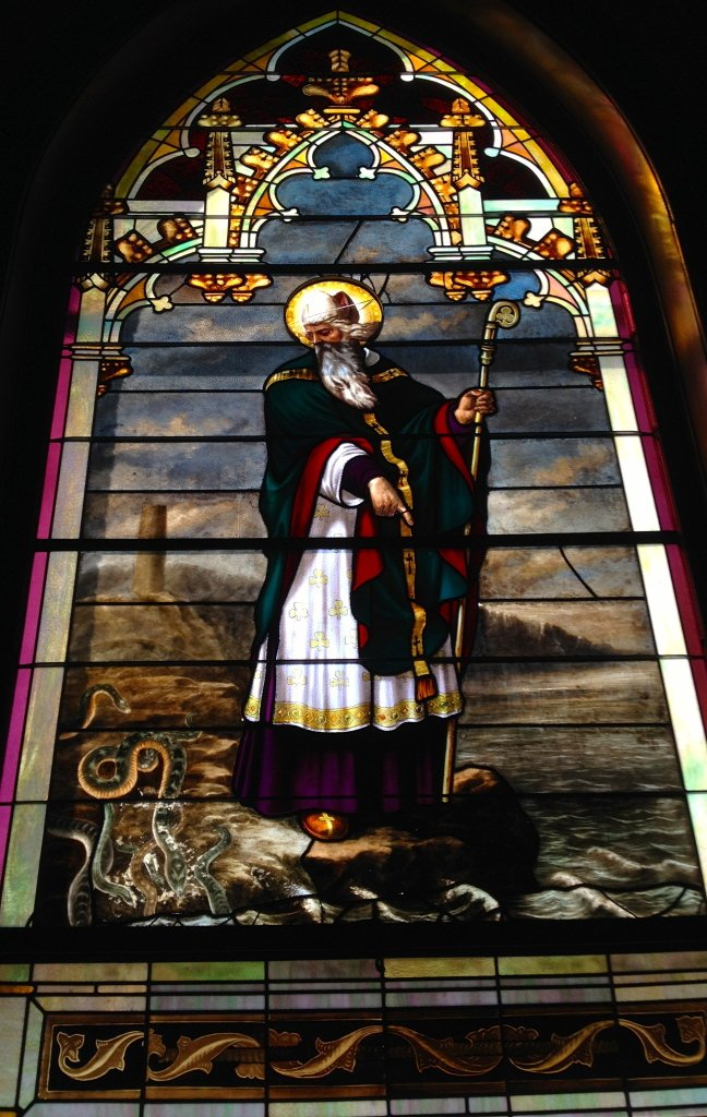 St Patrick, cathedral in Fresno, CA