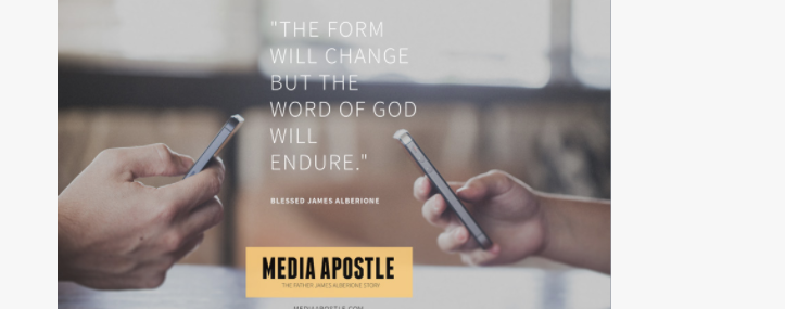 "The #MediaNuns offer ""Media Apostle: The Father James Alberione Story"" — a documentary about an early media evangelist"
