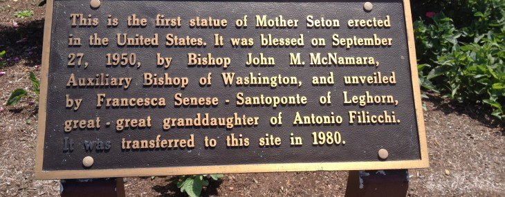 A visit with St Elizabeth Ann Seton, or, what I did over my summer vacation, Part 2