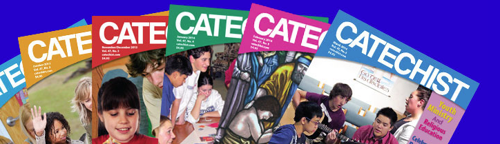 I'm writing a series on prayer in CATECHIST magazine, order a free copy or subscribe here