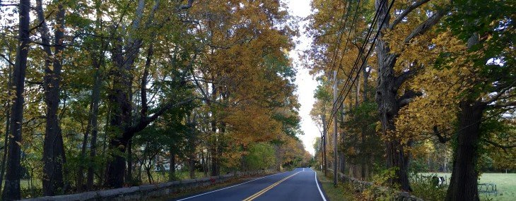 #Autumn down a country lane in New England. (Yes, I do live in a postcard.)