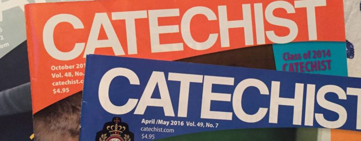 What goes around comes around… I'm the new editor at Catechist magazine!