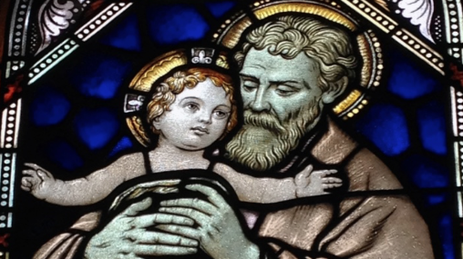 Among Women 220: St Joseph, the archangels, and Kate Wicker