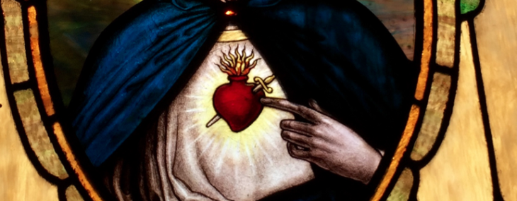 Among Women Espresso Shot #28: Devotion to the Immaculate Heart