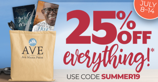 Super Summer Book Sale — 25% of everything! July 8-14!